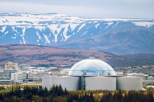 Edifico Perlan en Islandia