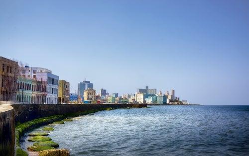Malecón de la Habana en Cuba