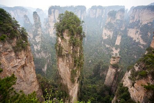 Picos en Zhangziajie
