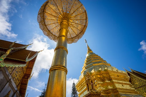 Wat Phra That Doi en Tailandia