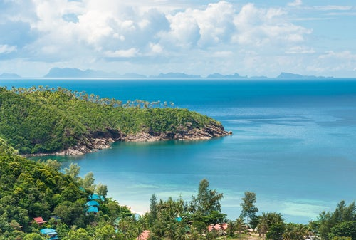 Koh Phangan en Tailandia