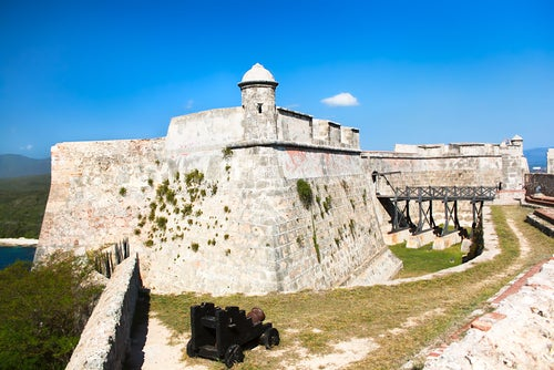 Castillo de San Pedro en Santiago de Cuba