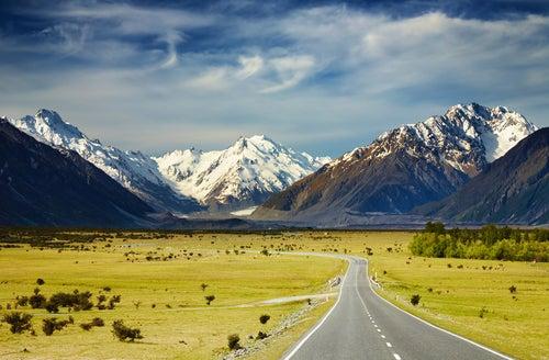 Southern Alps Nueva Zelanda