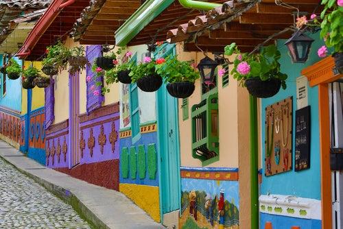 5 lugares coloridos en Latinoamérica