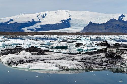 Glaciar de Vatnajökull en Islandia