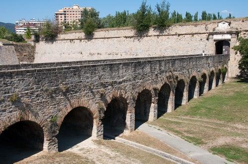 Vista de la ciudadela de Pamplona