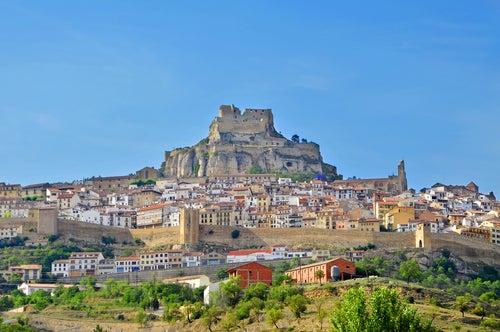 Panorámica de Morella en Castellón