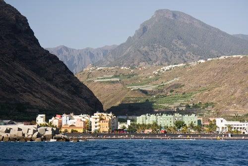 Puerto de Tazacorte en La Palma