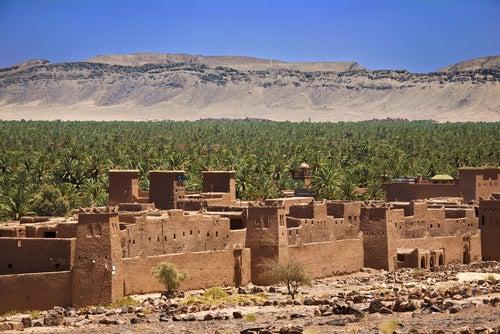 Valle del Draa en Marruecos