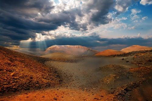 Montañas de Fuego en Lanzarote