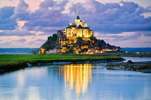 Vista del Mont Saint Michel