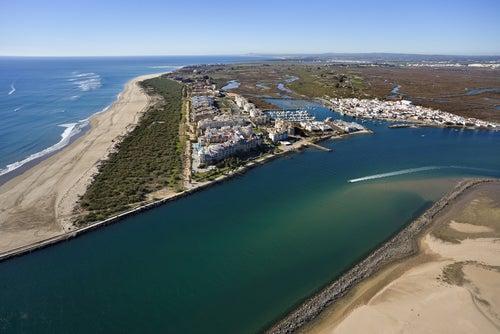 Isla Canela en Huelva