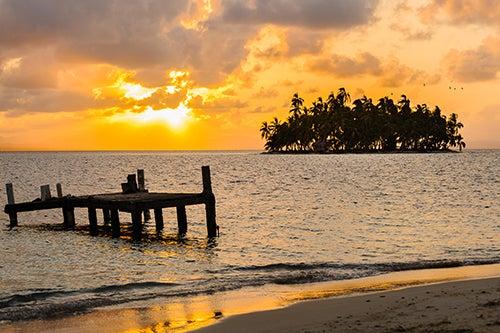 Isla San Blas en Panamá