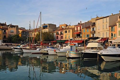 Barcas en el puerto de Marsella
