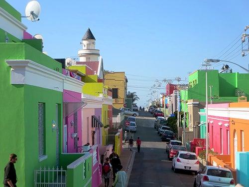 Boo-Kaap en Ciudad del Cabo