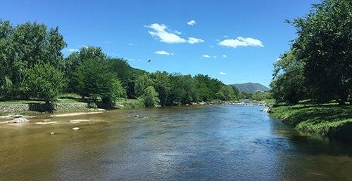 Rio en Cuesta Blanca