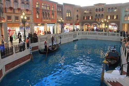 Canales en The Venetian Macao