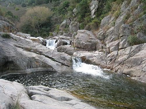 Cascada en Agua de Oro