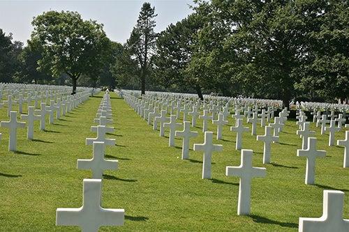 Cementerio americano en Normaníia