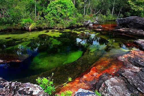 9 ríos de colores y su belleza natural
