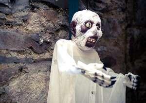 Decoración de Halloween en Irlanda