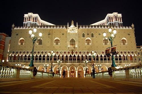 Fachada The Venetian Macao