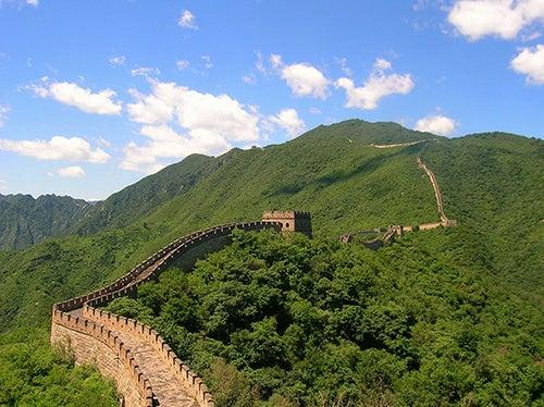 Gran Muralla China en Asia