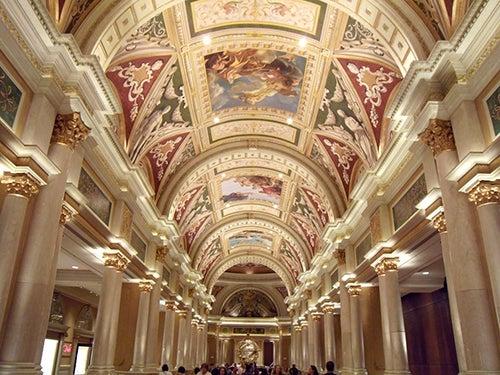 Interior The Venetian Hotel