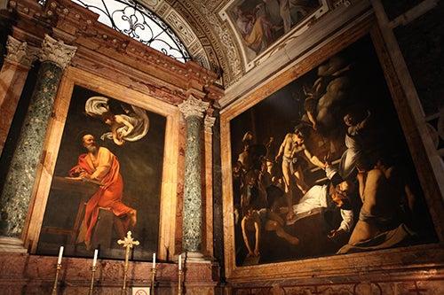 Interior de la Iglesia de San Luis de los Franceses