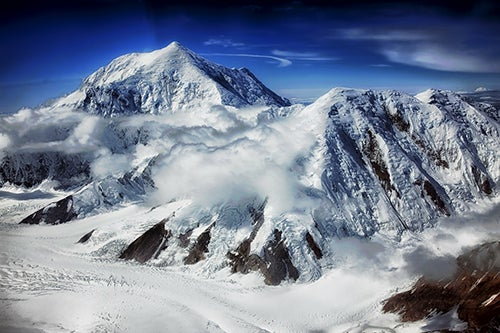 Monte Foraker en Alaska