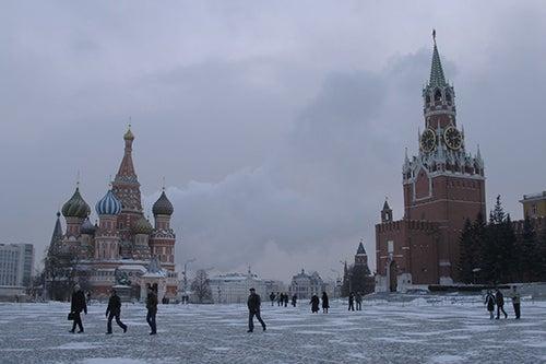 Moscú en invierno