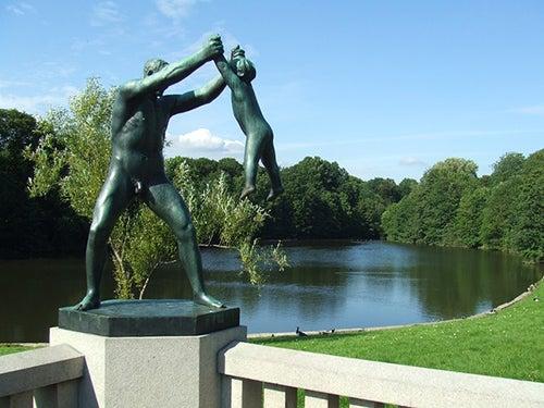 Parque Vigelan de Oslo