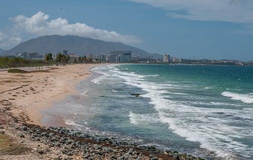 Playa de la Caracola en Isla Margarita