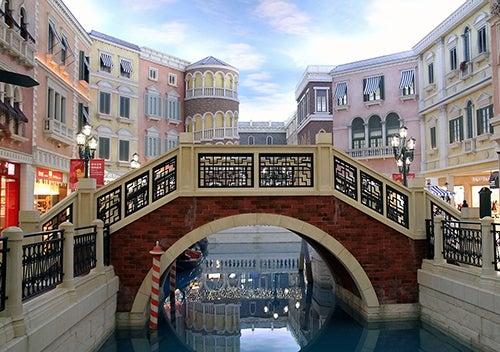 Puente de Rialto en Venetian Macao
