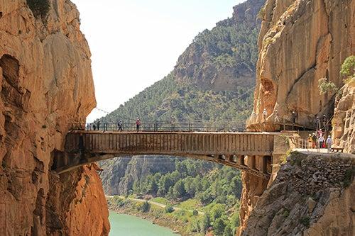 Puente en el Camino del Rey
