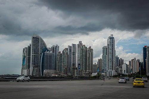 Rascacielos en Panama