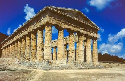 Templo de Segesta en Sicilia
