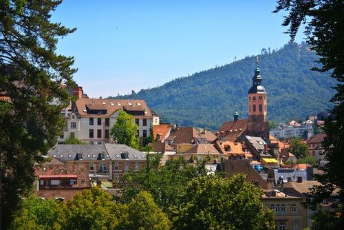 Vista de Baden-Baden.