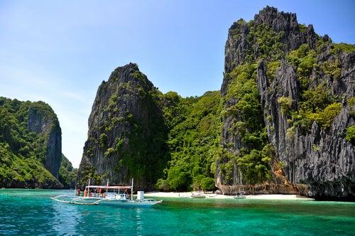 Vistas de las islas Filipinas.