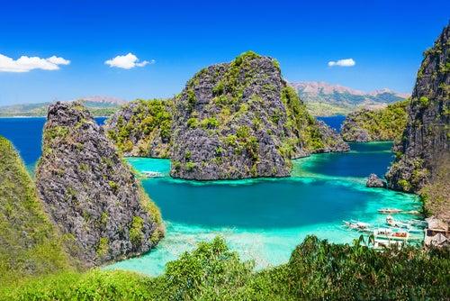 Playas de las islas Filipinas.