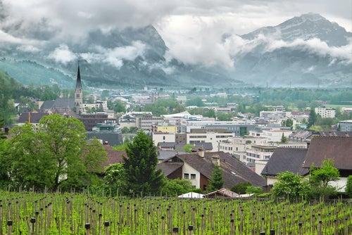 Vista de Liechtenstein