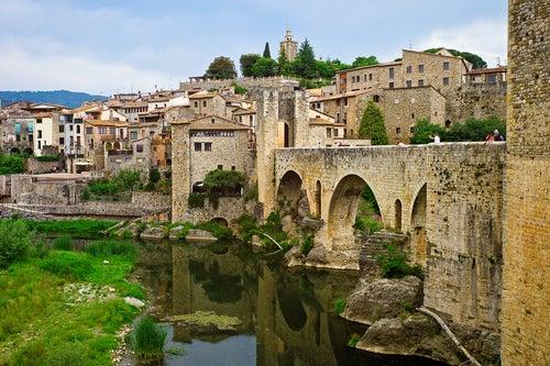 Besalú pueblo medieval en Girona