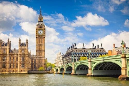 Big Ben en Londres, Inglaterra