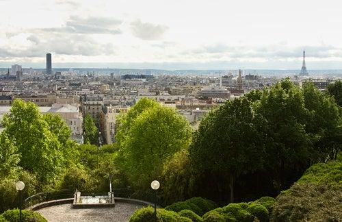 Parque Belleville de París