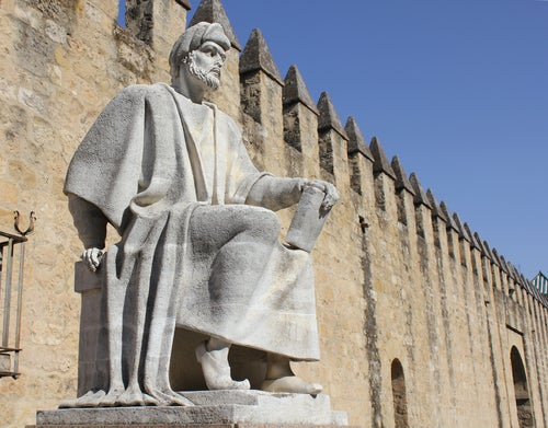 Estatua de Aberroes en Córdoba