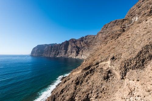 Acantilado de los Gigantes en Tenerife