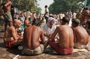 Mahalaya en la India