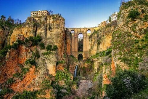 Vista del puente de Ronda