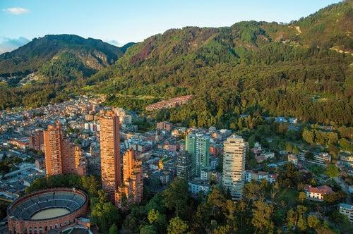 Vista de Bogotá en Colombia