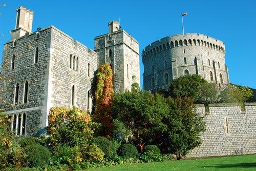 Torre de San Jorge en el castillo de Windsor